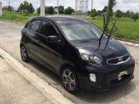 Black Kia Picanto 2016 Automatic for sale