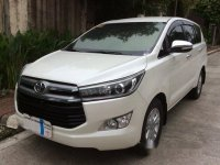 White Toyota Innova 2016 for sale in Quezon City