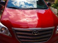 Sell Red 2016 Toyota Innova in Santa Rita