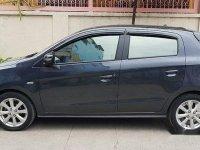 Grey Mitsubishi Mirage 2015 Hatchback for sale