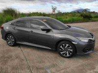 Sell Grey 2016 Honda Civic at 33253 km