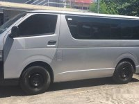 Sell Silver 2016 Toyota Hiace Manual Diesel