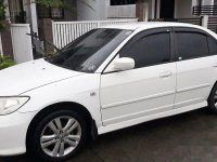 White Honda Civic 2005 for sale in Quezon City