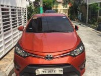 Orange Toyota Vios 2016 Automatic for sale