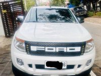 Selling White Ford Ranger 2015 Automatic Diesel