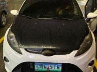 White Ford Fiesta 2013 Automatic for sale