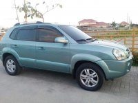 Blue Hyundai Tucson 2008 for sale in Manila