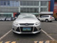 Pearlwhite Ford Focus 2013 for sale in Quezon