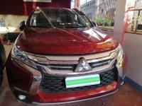 Selling Red Mitsubishi Montero sport 2018 SUV / MPV in Manila