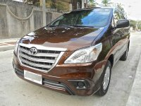 Brown Toyota Innova 2015 for sale in Quezon City