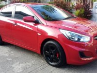Selling Red Hyundai Accent 2016 in Manila