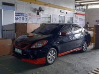 Black Nissan Almera 2013 for sale in Bacoor