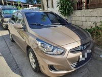 Selling Beige Hyundai Accent 2012 in Manila