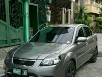Grey Kia Rio 2011 for sale in Pasig