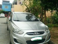 Selling Silver Hyundai Accent 2011 in Marikina