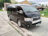 Black Toyota Hiace 2018 for sale in Automatic