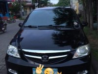Sell Black 2008 Honda City in Manila