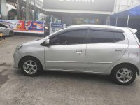 Silver Toyota Wigo 2014 for sale in Automatic