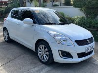 Pearl White Suzuki Swift 2015 for sale in Manila