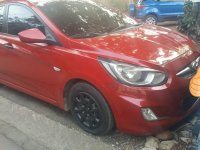 Red Hyundai Accent 2013 for sale in Manual