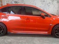 Orange Subaru Wrx 2014 for sale in Automatic