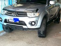 Silver Mitsubishi Montero 2015 for sale in San Fernando