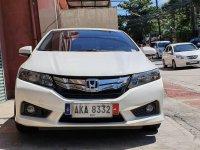 Sell White 2015 Honda City in Quezon City
