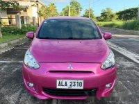 Selling Pink Mitsubishi Mirage 2015 in Manila