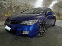 Blue Honda Civic 2006 for sale in Automatic