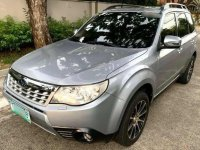 Silver Subaru Forester 2012 for sale in Automatic