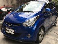 Blue Hyundai Eon 2015 for sale in Manual