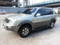 Silver Ssangyong Rexton 2003 for sale in San Andres