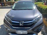 Grey Honda Cr-V 2017 for sale in Manila
