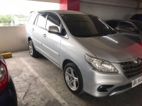 Sell Silver 2015 Toyota Innova in Manila