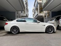 White Bmw M3 2008 for sale in Quezon City