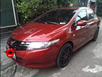 Selling Red Honda City 2009 Sedan at Manual at 97000 in Quezon City