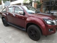 Red Isuzu D-Max 2014 for sale in Manila