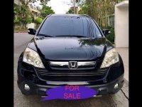 Black Honda Cr-V 2009 at 74196 for sale in Manila