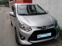 Selling Silver Toyota Wigo 2018 Hatchback at  Automatic   at 20000 in Bacoor