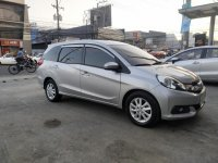 Silver Honda Mobilio 2015 SUV / MPV for sale in Manila