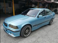 Selling Blue Bmw 3-Series 1998 Sedan at 115000 in Quezon City