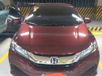 Red Honda City 2016 for sale in Manila