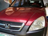Red Honda Cr-V 2002 for sale in Manila