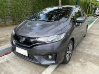 Selling Grey Honda Jazz 2016 in Estancia