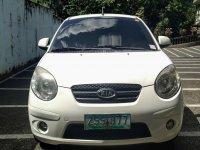 White Kia Picanto 2008 for sale in Quezon City