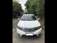 White Honda City 2012 Sedan at  Automatic   for sale in Manila
