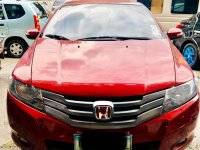 Red Honda City 2009 for sale in Automatic