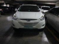 White Hyundai Tucson 2007 for sale in Manila