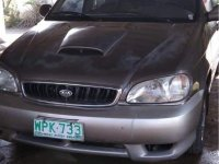 Sell Grey 2001 Kia Carnival in Rizal