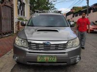 Grey Subaru Forester 2010 for sale in Manila